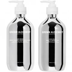 Grown Alchemist Hand Wash & Hand Cream Silver Set