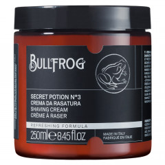 Bullfrog Shaving Cream Secret Potion N. 3 250 ml