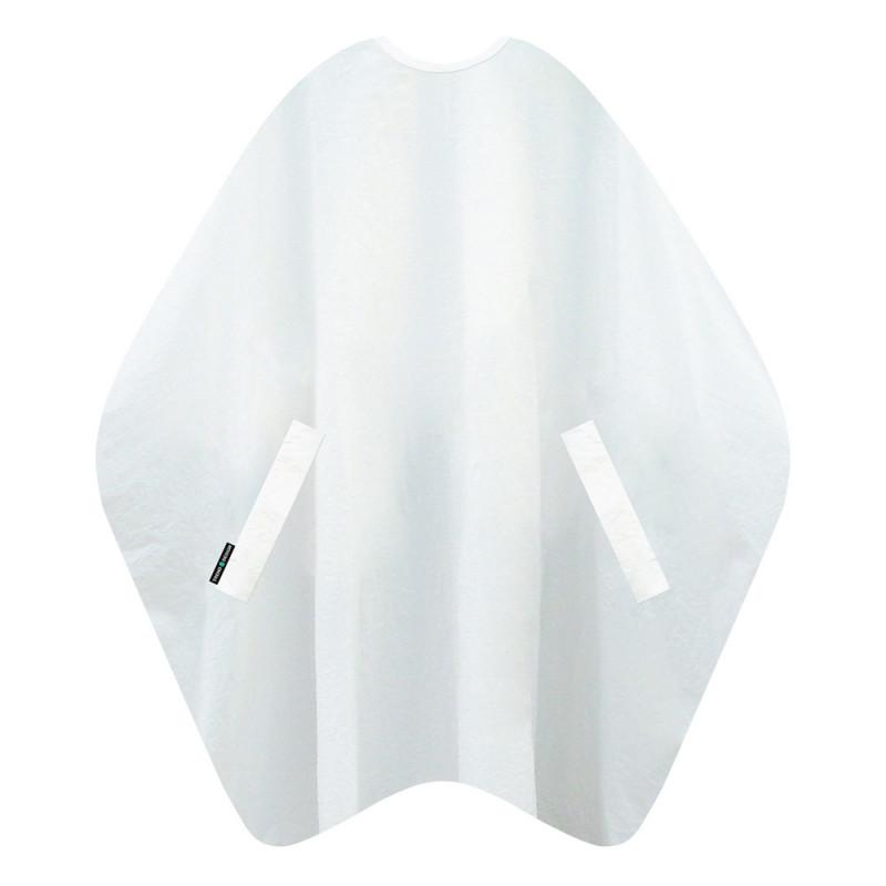 Trend-Design Classic Haarschneideumhang Weiß