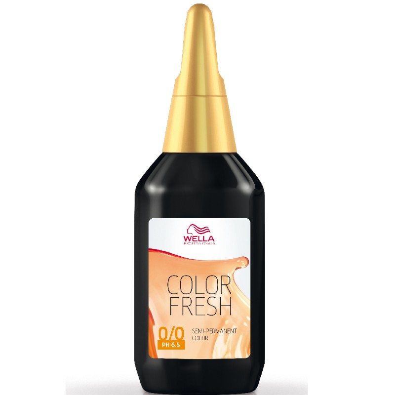 Wella Color fresh 6/45 Dunkelblond Rot-Mahagoni 75 ml