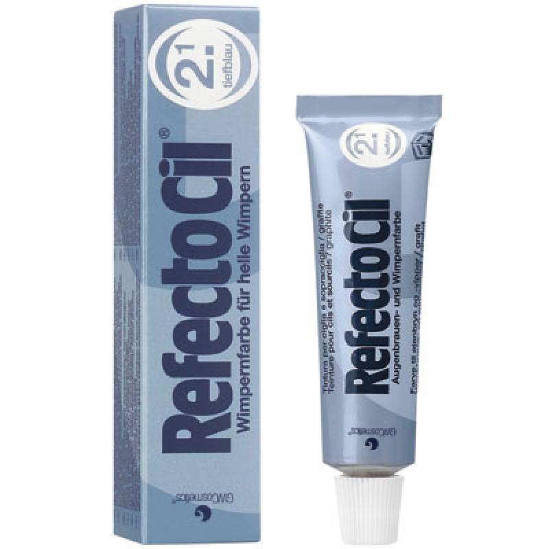 RefectoCil Augenbrauen- & Wimpernfarbe Nr. 2.1 Tiefblau 15 ml