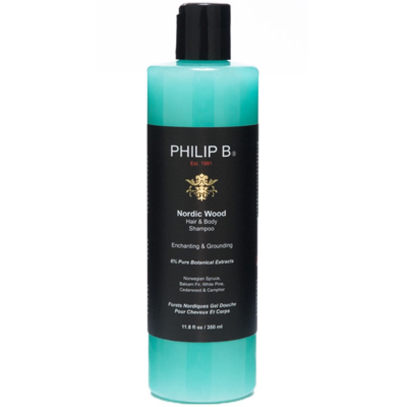 Philip B. Nordic Wood One Step Hair & Body Shampoo 350 ml