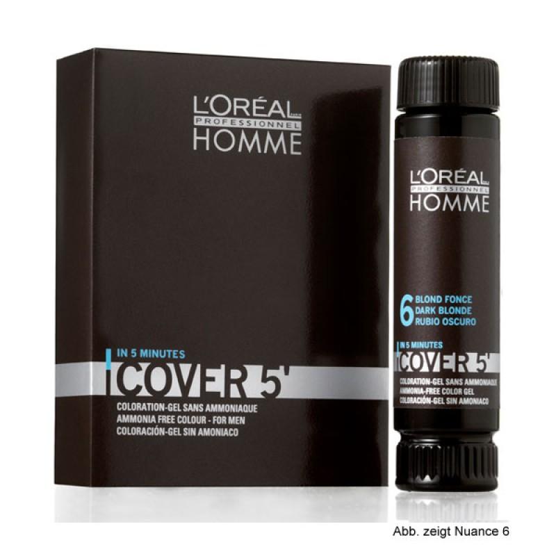 Loreal Homme Cover 5 Grauhaarkaschierung Mittelblond 50 ml