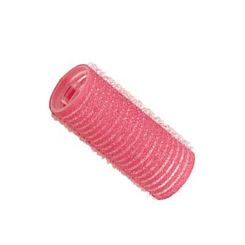 Comair Haftwickler 24 mm, rosa, 12er Beutel
