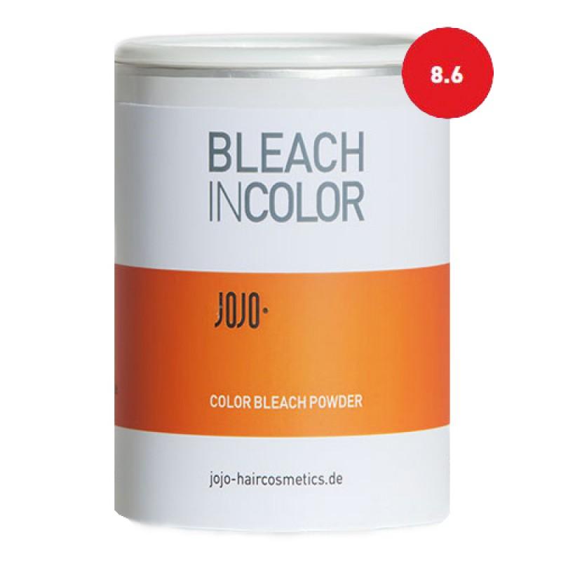 JoJo Bleach in Color 8.6 fire red