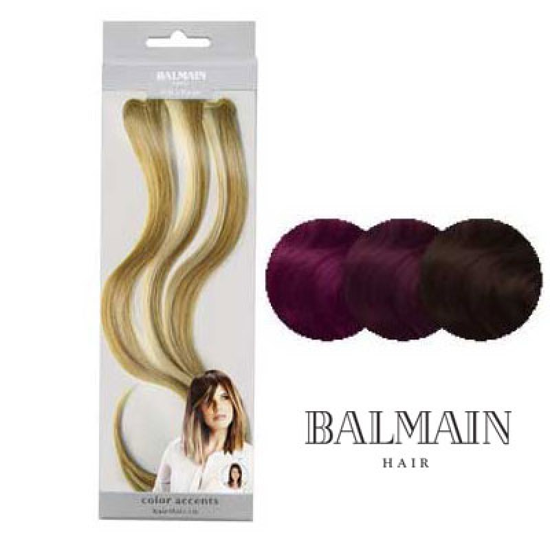 Balmain Color Accents Wild Berry 30 cm
