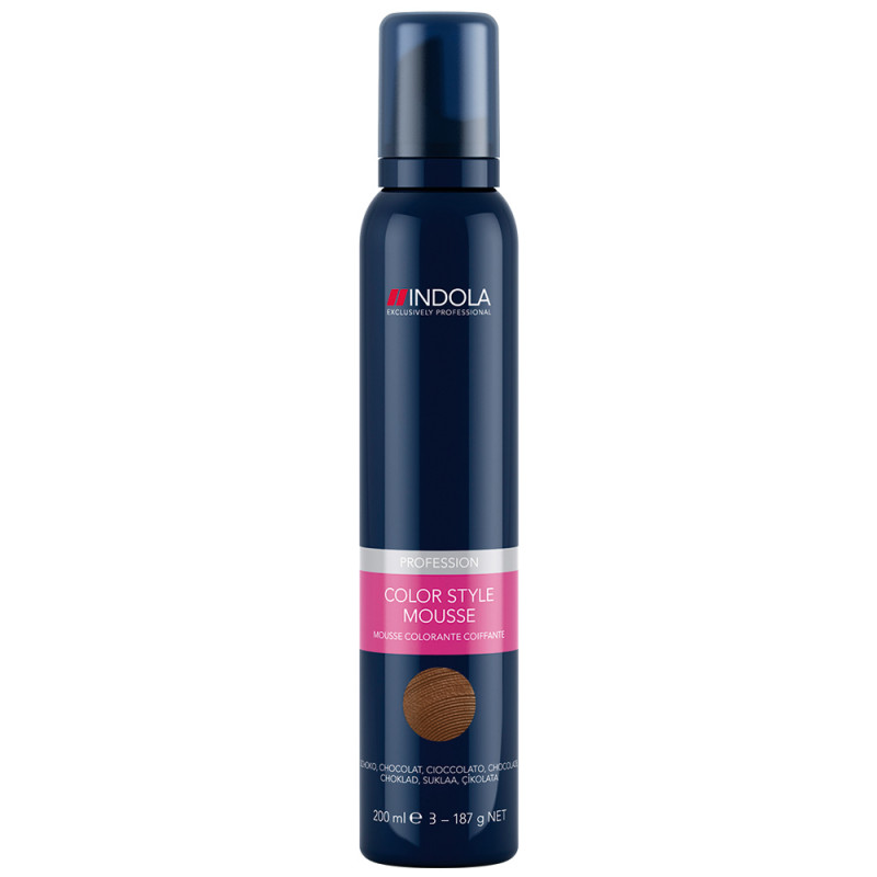 Indola Color Style Mousse Schoko 200 ml