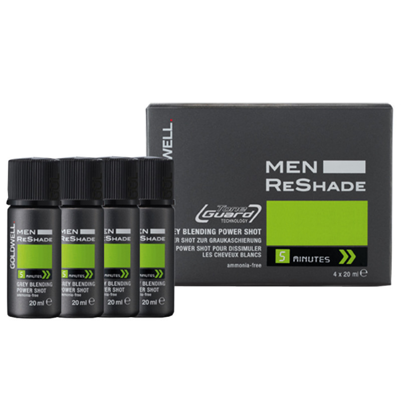 Goldwell Men Reshade 5CA 4 x Shots 20 ml