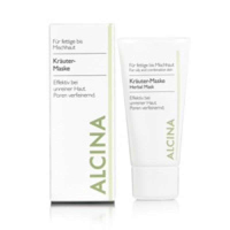 Alcina Kräuter-Maske für fettige bis Mischhaut