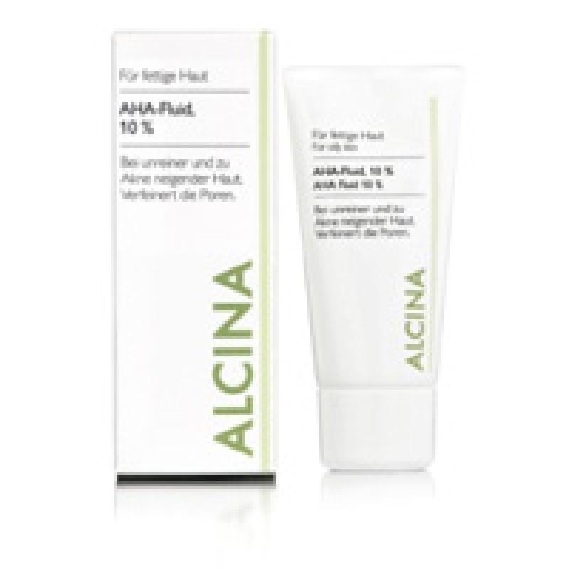 Alcina AHA-Fluid 10% für fettige bis Mischhaut