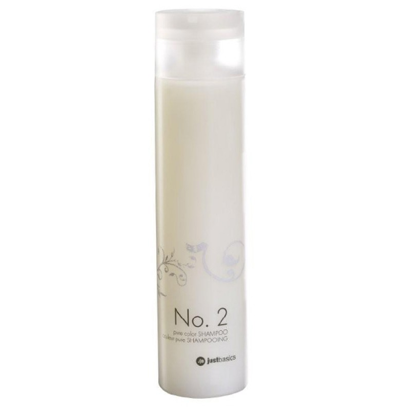 justbasics Pure Color Shampoo No.2 250 ml