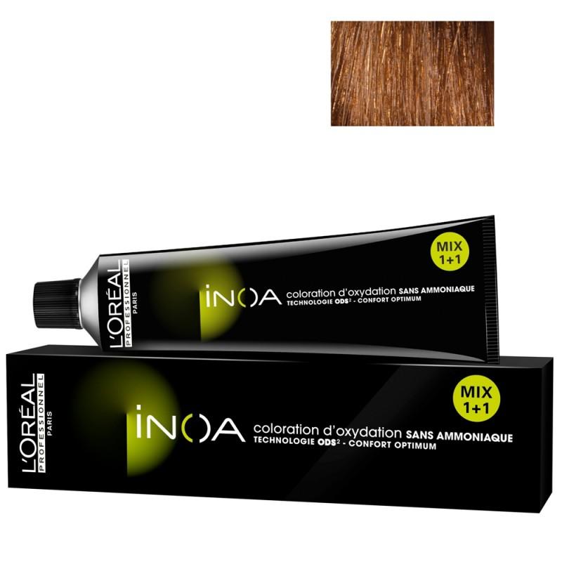 L'Oréal Professionnel INOA 7,35 mittelblond gold mahagoni 60 ml