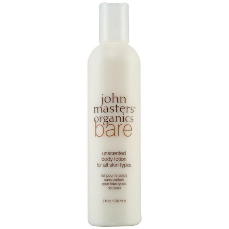 john masters organics Bodycare Bare Unscented Body Lotion 236 ml