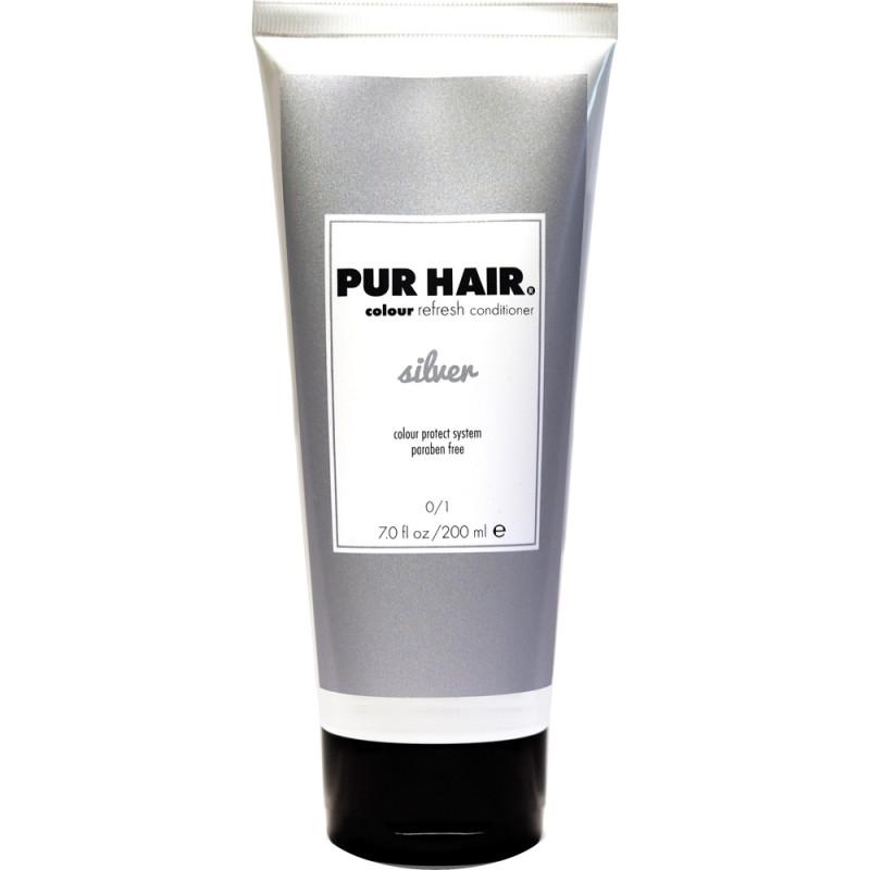 PUR HAIR Colour Refreshing Mask Silver 200 ml