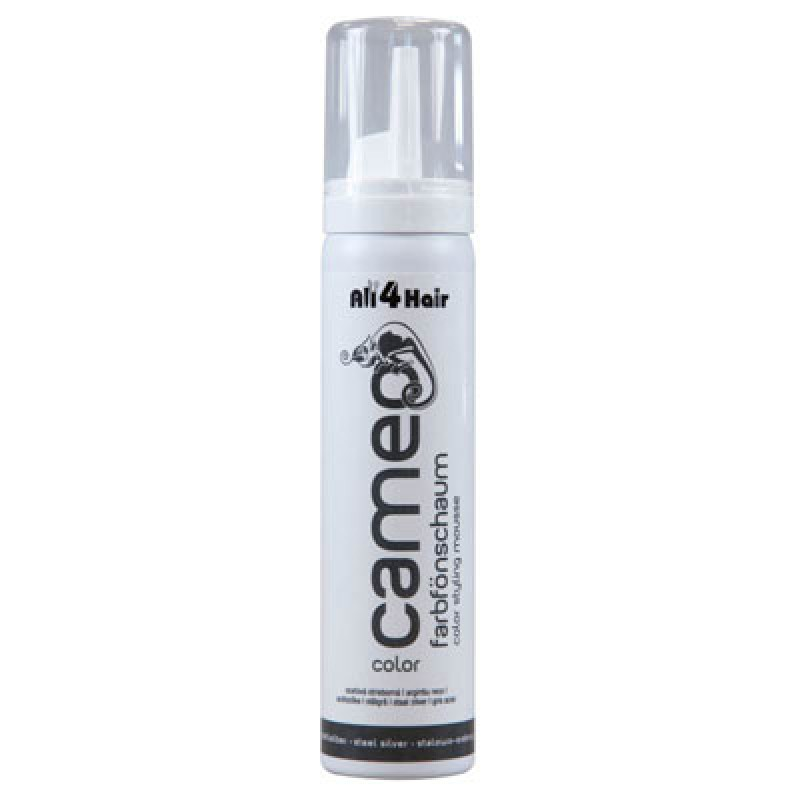 LOVE FOR HAIR Professional cameo color style mousse stahlsilber 75 ml