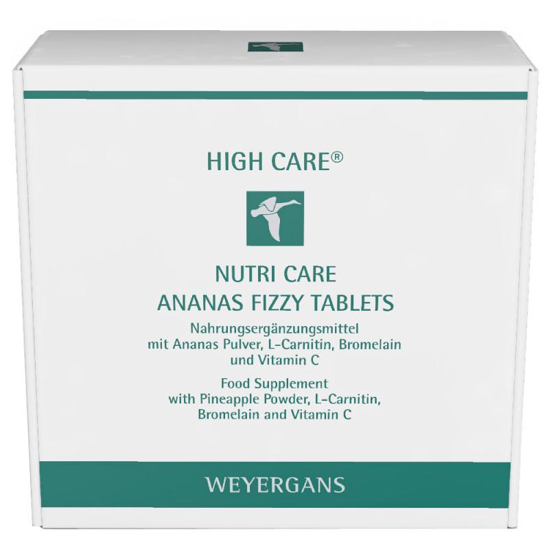 Weyergans Nutri Care High Care Ananas Fizzy Tablets 7 x 4 Stück