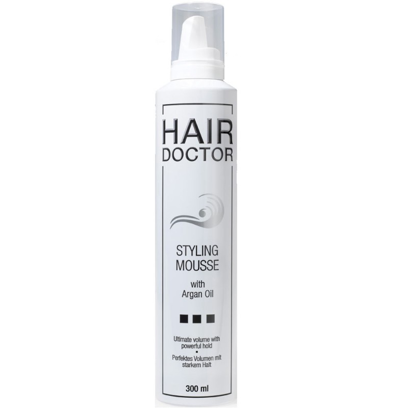 Hair Doctor Styling Mousse Strong mit Arganöl 300 ml