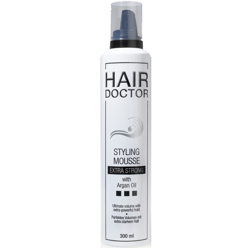 Hair Doctor Styling Mousse Extra Strong mit Arganöl 300 ml
