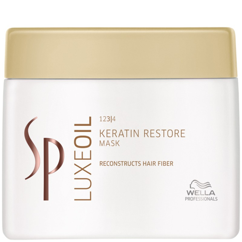WELLA SP System Professional Luxe Oil Keratin Restore Mask 400 ml