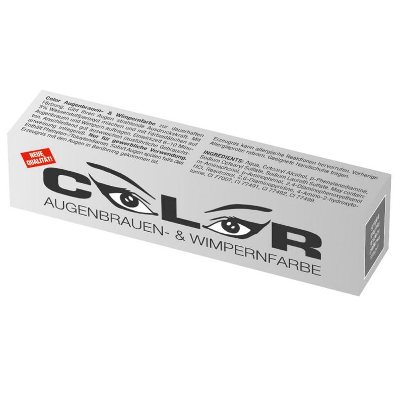 Comair Color Augenbrauen- und Wimpernfarbe graphit 15 ml