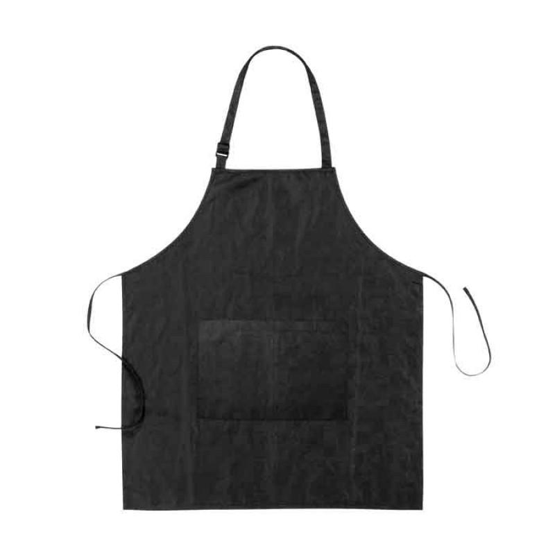 Comair Färbeschürze Relief schwarz 100 % Polyester