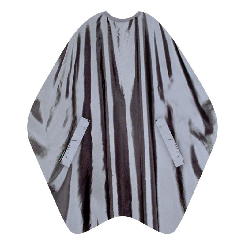 Trend-Design KeepCool Haarschneideumhang Grau
