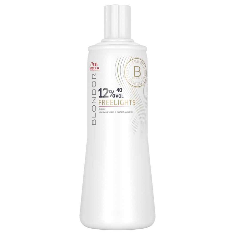 Wella Blondor Freelights Oxidationsmittel 12 % 1000 ml