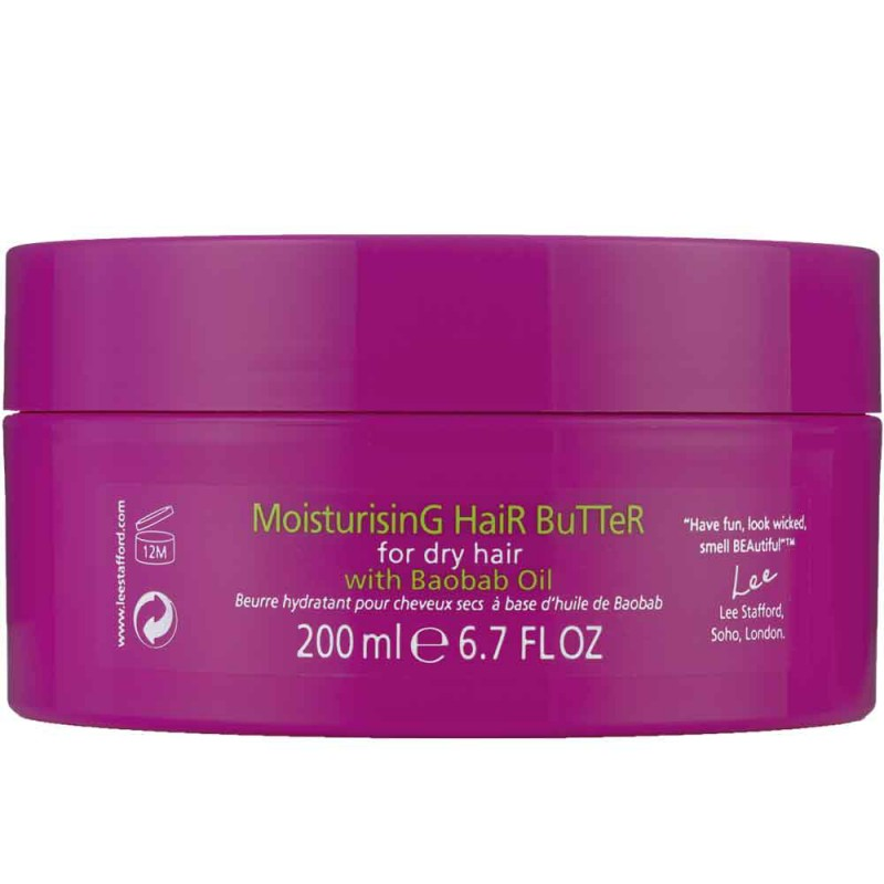 Lee Stafford Ubuntu Oils Moisturising Hair Butter 200 ml