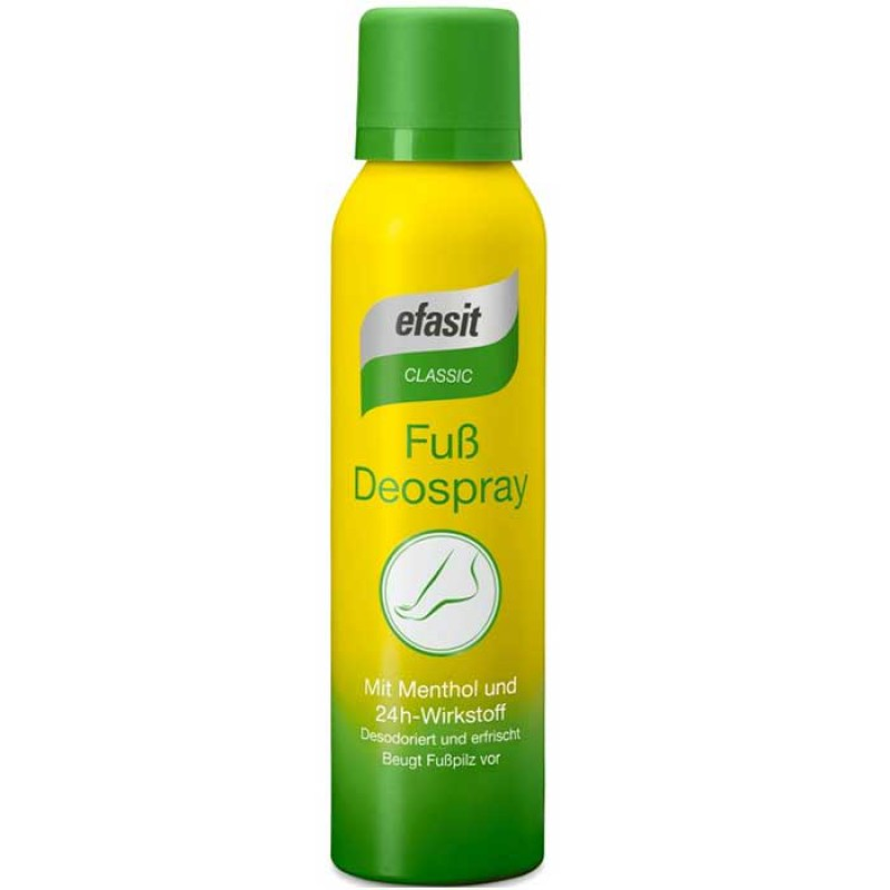 efasit CLASSIC Fuß Deo Spray 150 ml