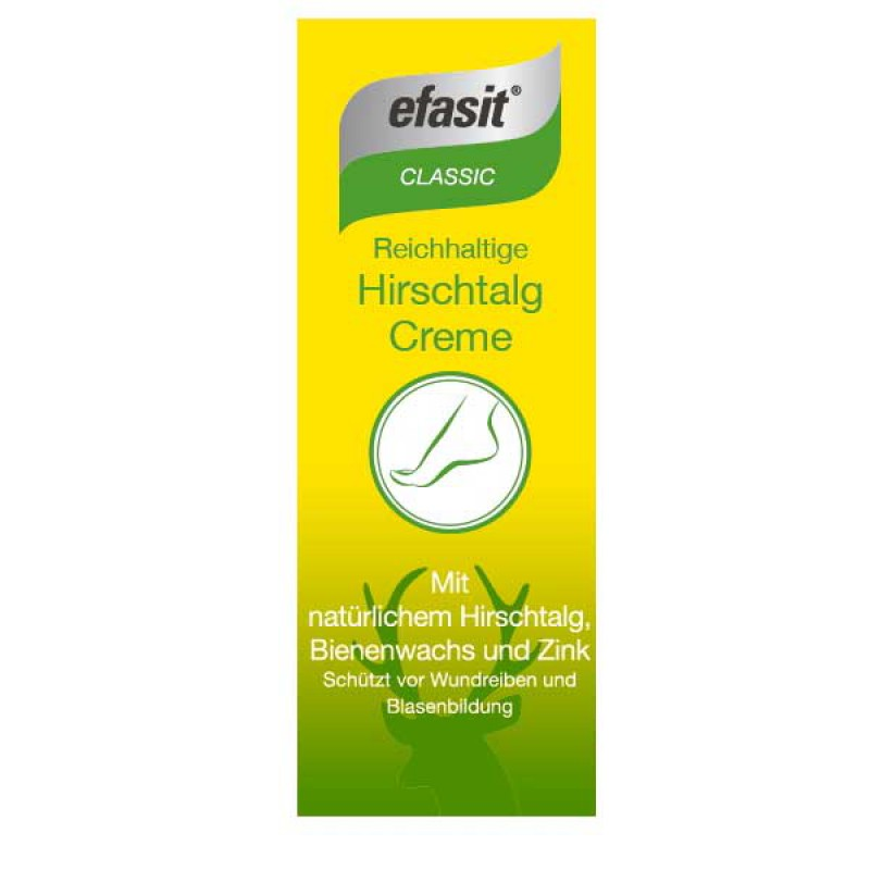 efasit CLASSIC Reichhaltige Hirschtalg Creme 100 ml
