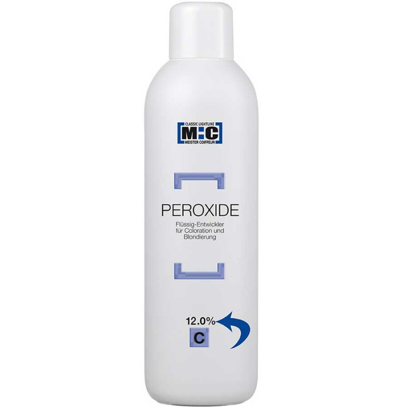 M:C Meister Coiffeur Peroxide 12.0 C 1000 ml