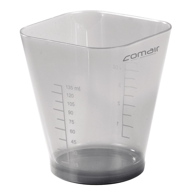 Comair 135 ml Messbecher Pure Anthrazit Transparent