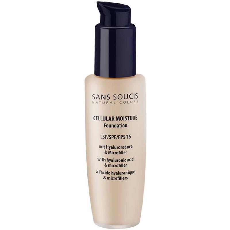 Sans Soucis Cellular Moisture Foundation 10 Sand Beige 30 ml
