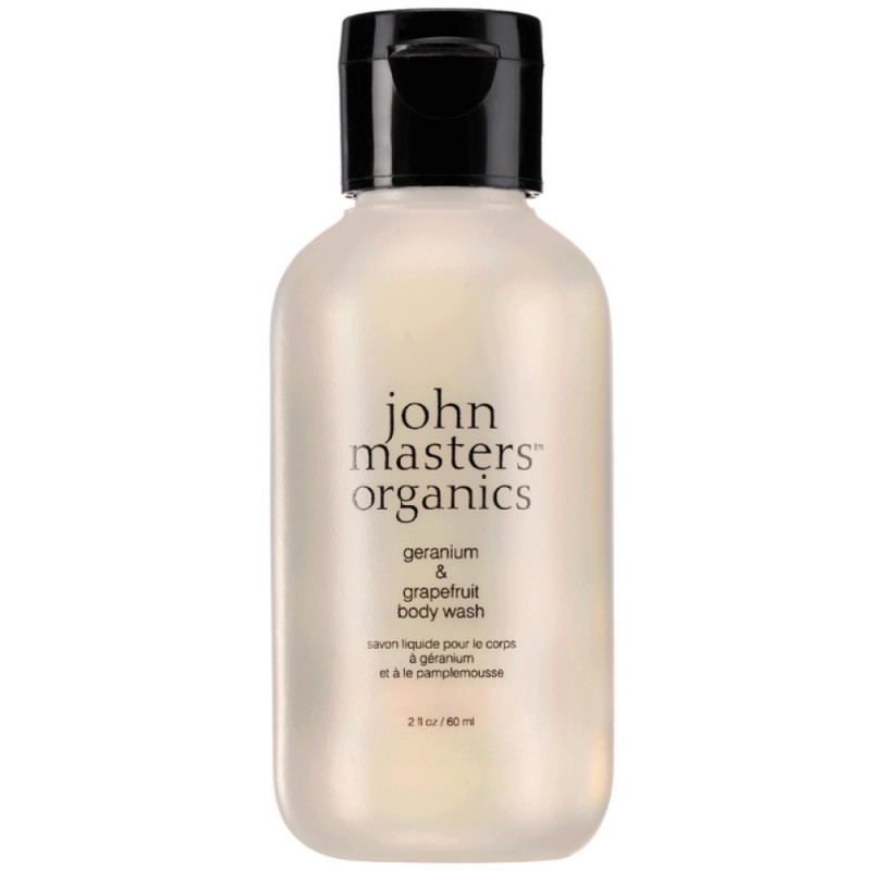 john masters organics MINI Body Wash Grapefruit & Geranium 60 ml