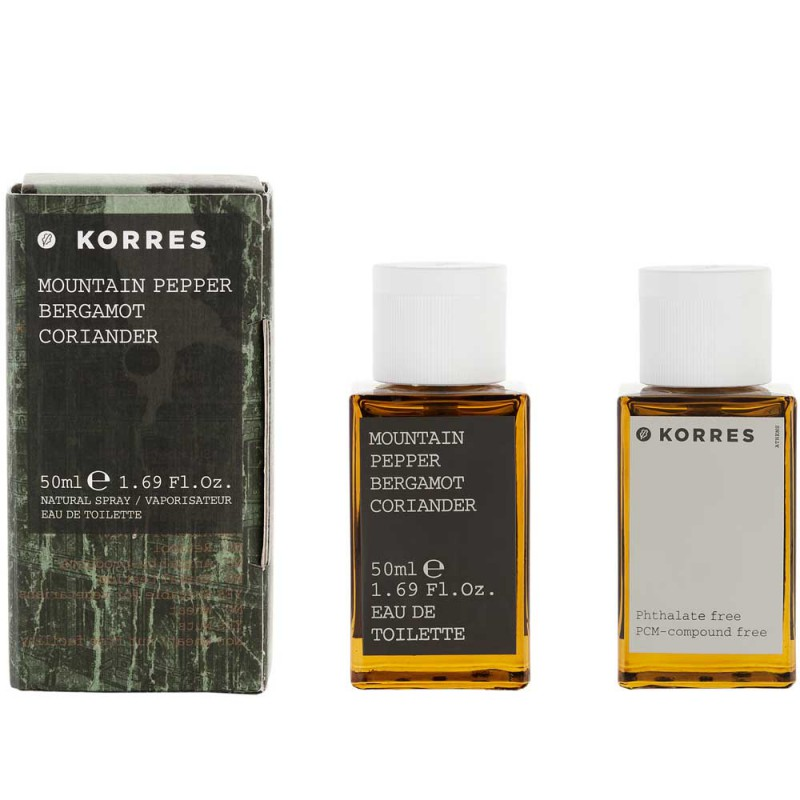 Korres Mountain Pepper / Bergamot EdT 50 ml