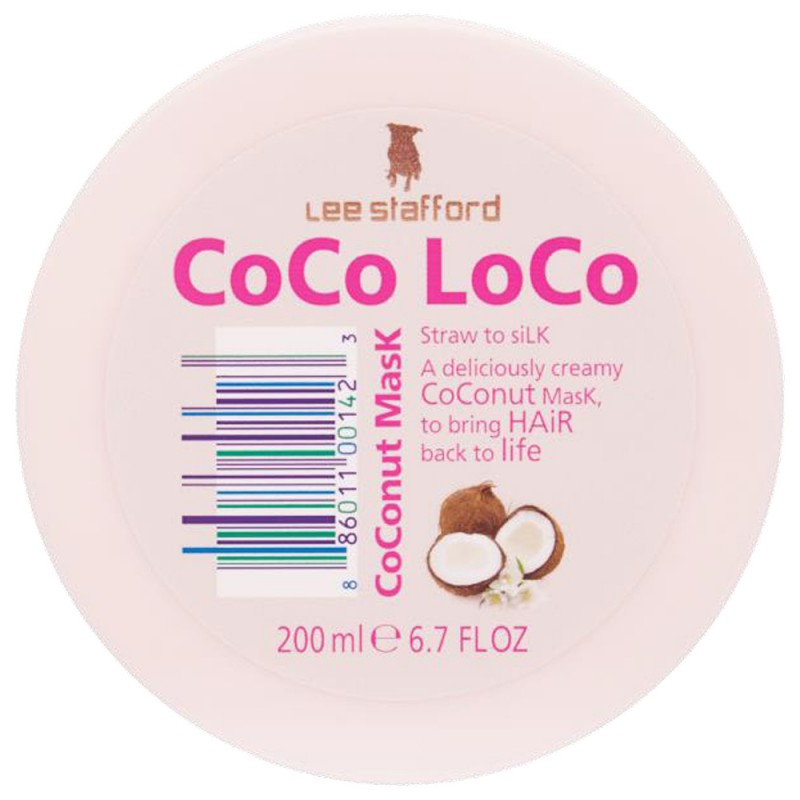Lee Stafford Coco Loco Coconut Mask 200 ml