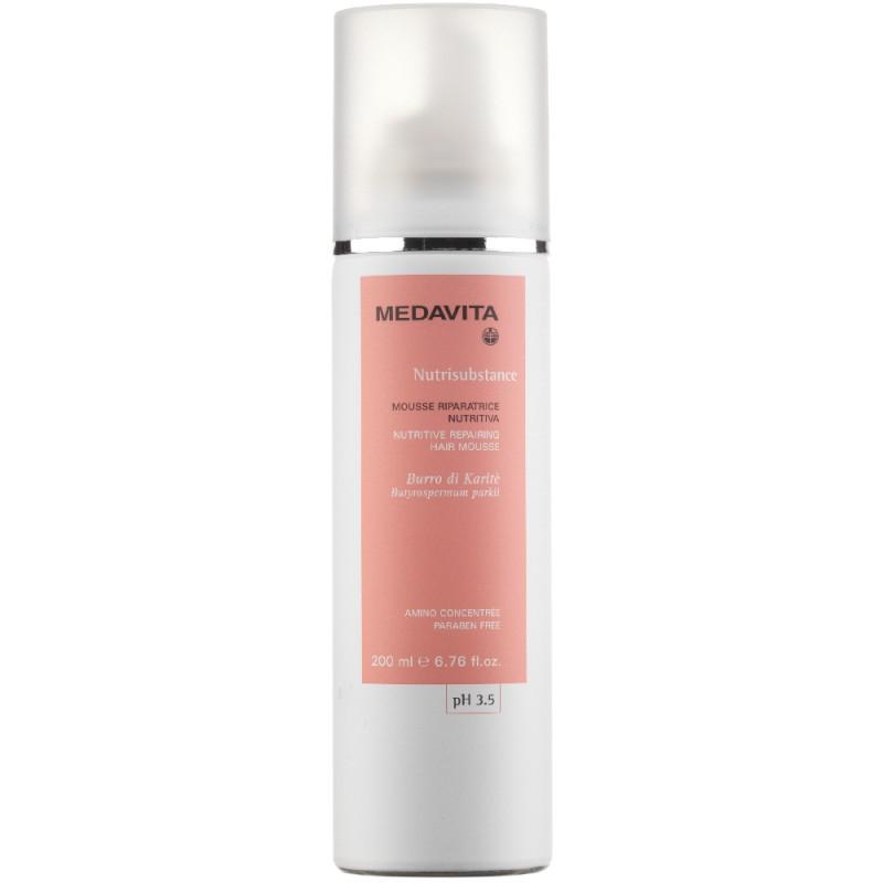 Medavita Nutritive repairing hair mousse 200 ml