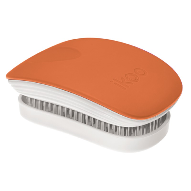 ikoo brush POCKET white - orange blossom
