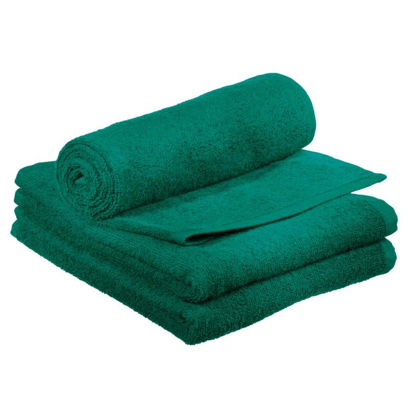 Comair Kabinett Handtuch smaragdgrün 50x90cm 100% Baumwolle
