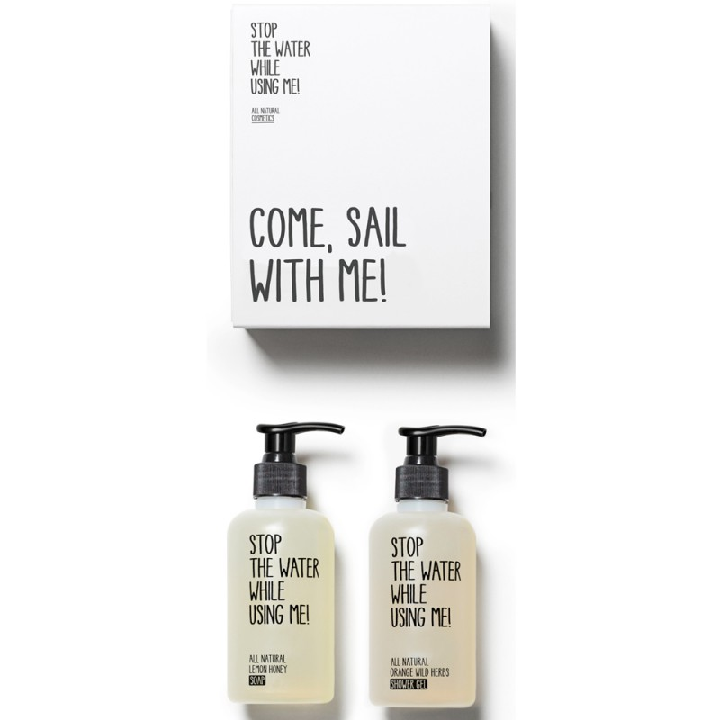 Stop the water while using me! All natural Sailor-Kit