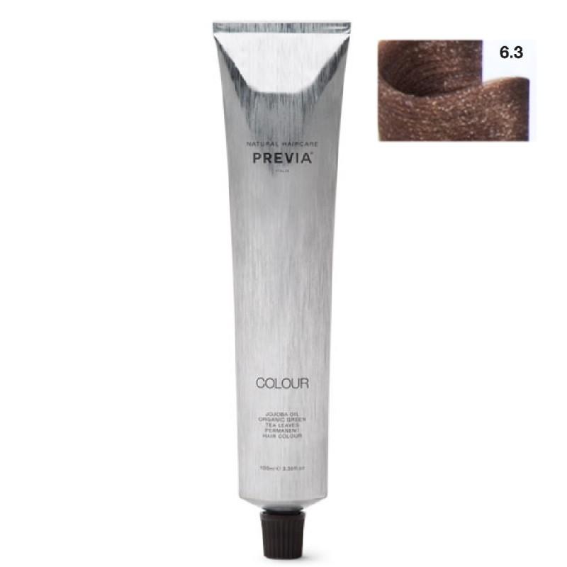 Previa Colour 6,3 / 6G dunkles Goldblond 100 ml