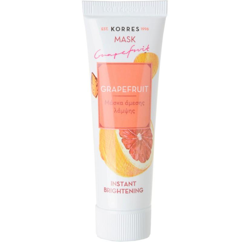 Korres Grapefruit Instant brightening Mask 18 ml