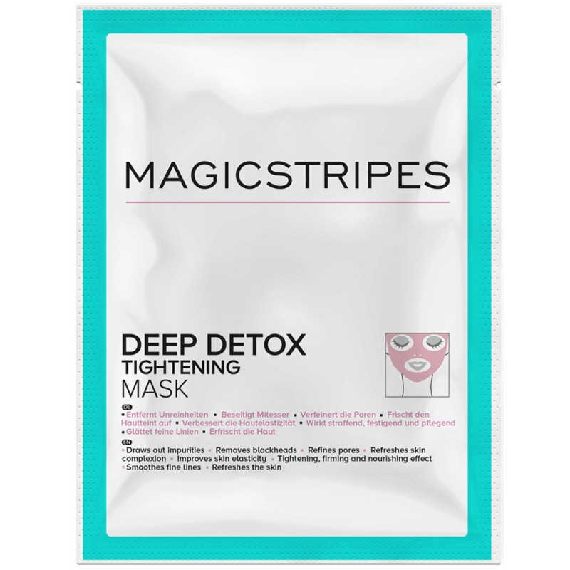 Magicstripes Deep Detox Tightening Mask Sachet