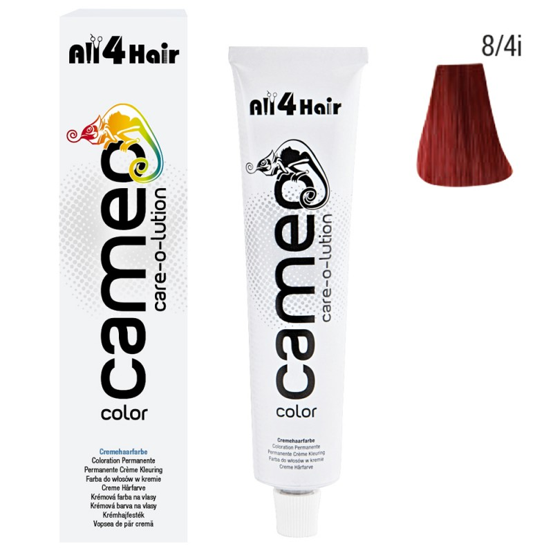 Cameo Color Haarfarbe 8/4i hellblond intensiv rot-intensiv 60 ml