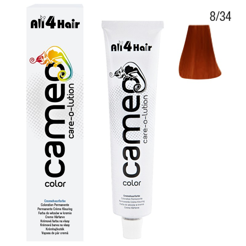 Cameo Color Haarfarbe 8/34 hellblond gold-rot 60 ml