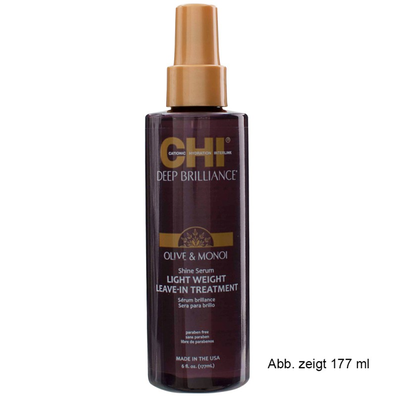 CHI Deep Brilliance Shine Serum Light 89 ml
