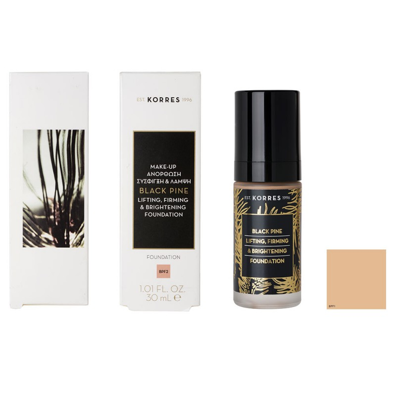 Korres Black Pine Foundation BPF1 30 ml