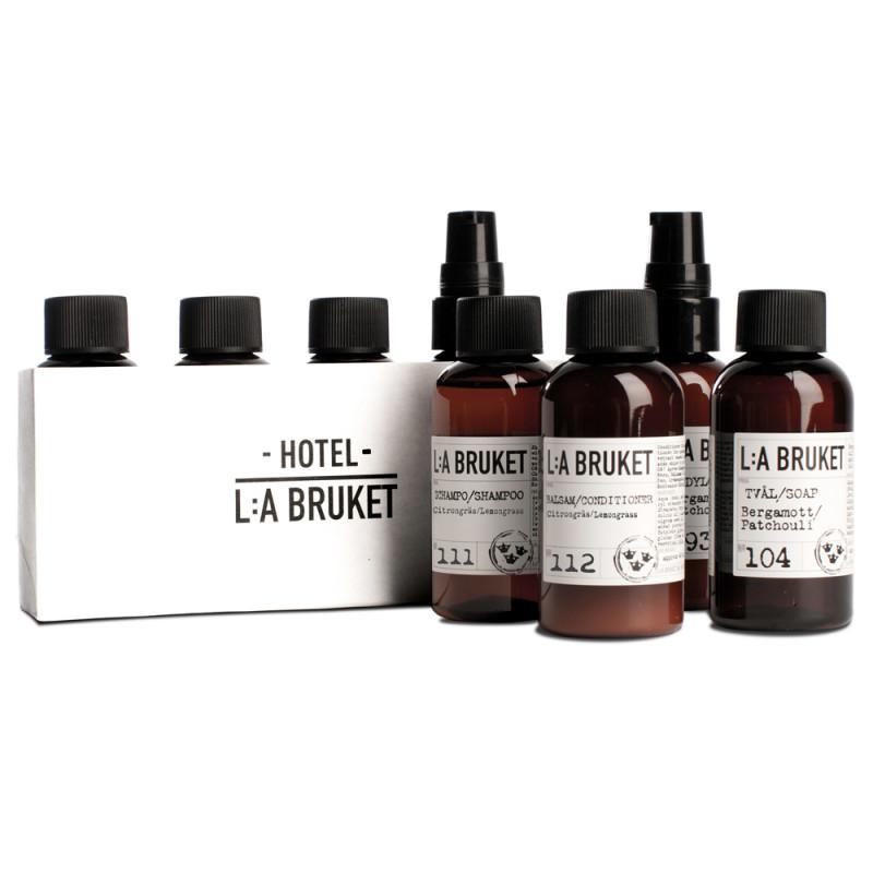 L:A BRUKET No.165 Travel Kit 4 x 60 ml