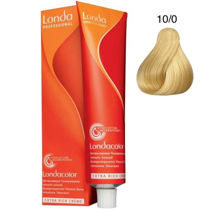 Londa Demi-permanent Color Creme 10/0 Hell-Lichtblond 60 ml