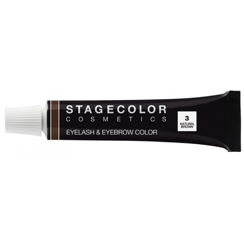 STAGECOLOR Eyelash & Eyebrow Color Natural Brown 15 ml